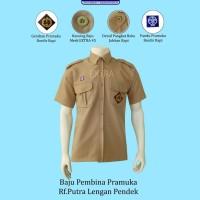 Baju Pembina Pramuka Rafilo Putra Lengan Pendek