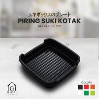 Glori Melamin Piring Makan Suki Sukiyaki Original Kotak 14 cm G445