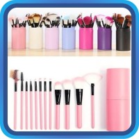 Raja - Alat Make Up 12 Kuas /Make Up Tools/ Brush/Kosmetik/Make up Set