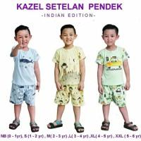 kazel setelan pendek indian edition/baju anak kazel