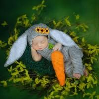BAJU RAJUT BAYI / COSTUM / PROPERTI FOTOGRAFI /BABY PHOTOSHOOT KELINCI