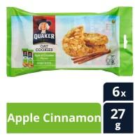 Quaker Oat Cookies Apple Cinnamon 6sX27g
