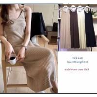 [Dress Seline Rajut BC]Dress wanita rajut Varian warna
