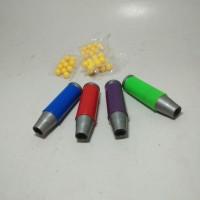 Tembakan Pletokan plastik mainan jadul bukan bambu