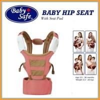 Gendongan Hip Seat Baby Safe Pink