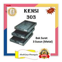 KENSI 303 BAK SURAT 3 SUSUN (METAL)