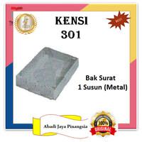 KENSI 301 BAK SURAT 1 SUSUN (METAL)