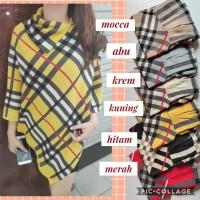 ponco outer sweater baju winter baju dingin fashion wanita baju wanita