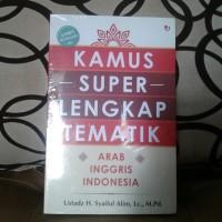 Kamus super lengkap tematik arab inggris indonesia
