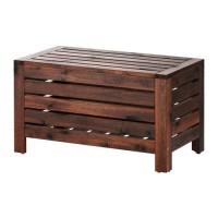 IKApplaro Bangku Dgn Tempat Penyimpanan Outdoor Storage Bench 80x41