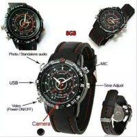 Spy Cam Watch (jam tangan kamera) 8GB Rantai