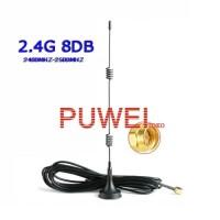 GSM GPRS 2.4G 3G 8dBi Antena WIFI Router MiFi Signal Antenna 8dB FC19