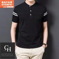 Baju Kaos Zayn Pria Polo Shirt Polos Kerah Shanghai   Kaos Distro Pria