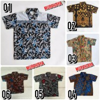 Kemeja / Hem / Atasan / Baju / Anak Laki laki Batik 2183 / Batik Pekal