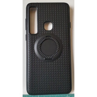 I-Zore Magnetic Ring Shockproof Case Samsung Galaxy A9 2018 - Hitam