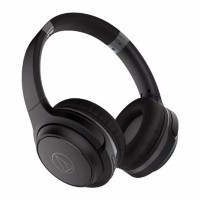 Audio-Technica ATH-S200BT Wireless Over-Ear Headphones - Black Red