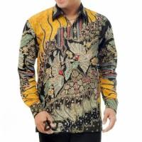 kemeja batik tulis kombinasi motif baru dilengkapi furing