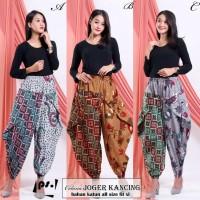 celana batik panjang xl jumbo wanita jogger aladin modern aladdin