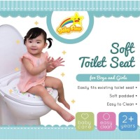 Baby Flow Soft Potty Seat Ring Closet (with handle