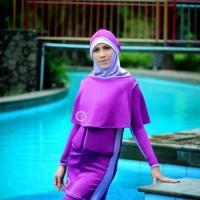 Pakaian Renang Ngapung DEWASA SafeSwim M2D HIJAB UT BCren475
