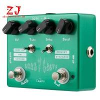 Caline CP-20 Pedal Efek Gitar Elektrik Crazy Cacti dengan Efek Bypass