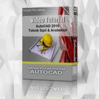 Murah Video Tutorial AutoCad 2016 Teknik Sipil & Arsitektur