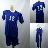 Setelan Baju/Kaos Sepak Bola/Futsal Team/Tim Anak Biru Putih