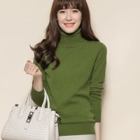Sweater Wanita - Sweater Wool - Turtleneck Wanita - Baju Musim Dingin