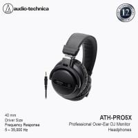 AudioTechnica ATH-PRO5X BK Professional Over-Ear DJ Monitor Headphones