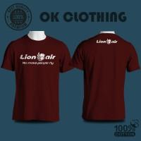 Baju Kaos Pesawat Lion Air Berkualitas
