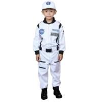 Baju Seragam Profesi Anak Astronot Putih Kostum Cowok Laki Laki NASA