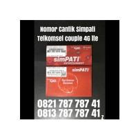 Kartu Perdana simpati Nomer cantik Telkomsel Couple pasangan ABA 8741
