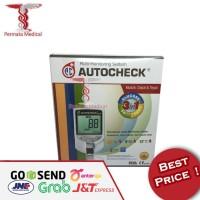 Alat cek darah Autocheck 3 in 1 Gula , Kolestrol , Asam Urat