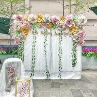 sewa backdrop paper flower