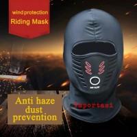 Balaclava Air Flow Anti Fog Haze Waterproof Masker Debu Buff Motor