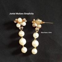 Bros Juntai Mutiara Simplicity Aksesoris Hijab Pasmina Jilbab Murah