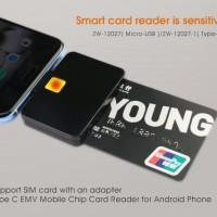 Card Reader Debit ATM/Kartu Kredit Smartphone/Laptop/PC Kasir Toko