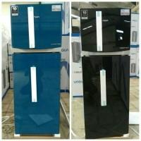 kulkas lemari es 2 pintu inverter AQUA AQR-D275R