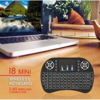 Backlit I8 Mini Keyboard Wireless 2.4GHz Multimedia Remote Control