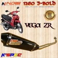 Knalpot Nobi Neo 3 Bold Black Series JUPITER Z1 INJECTION Nob1 Racing