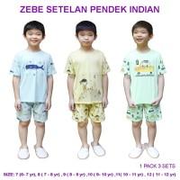 Zebe Setelan Pendek Indian Edition