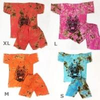Baju Barong Bali Anak ukuran S-XL Warna Random