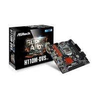 Asrock H110M-DVS R3.0 - LGA 1151. H110. DDR4