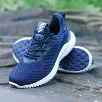 Sepatu Olahraga Adidas Alphabounce Grade Ori Pria Running Sneakers Gym