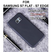 Soft matte case Samsung S7 Flat - S7 Edge casing back cover ultra thin