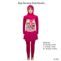 Baju Renang Anak Muslim Karakter 5-10 Th Unicorn King - BRAM-SDK243