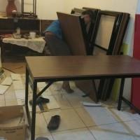 meja lipat semi permanent spesial heavy duty khusus grosir