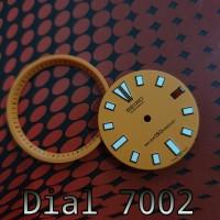 Seiko Diver 7002 Dial Top Quality oren orange