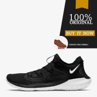 Sepatu Running Original Sepatu Nike Flex RN 2019 - Black/White