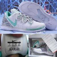 Sepatu Basket Nike Kyrie Irving 5 Low White Green Black Vietnam